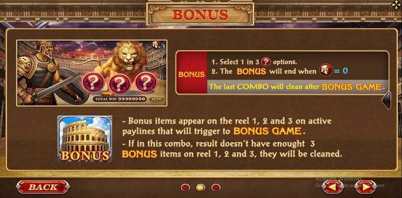 feature bonus