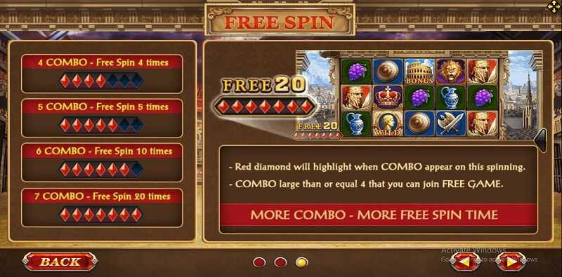 feature free spin